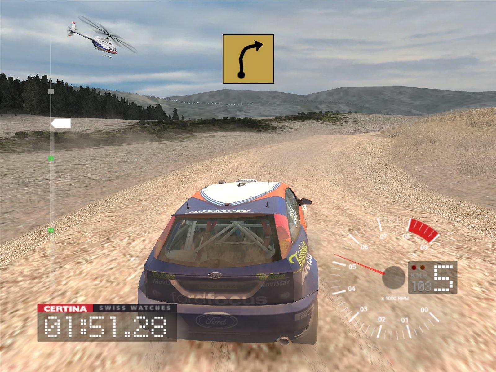 Скриншот Colin McRae Rally 3
