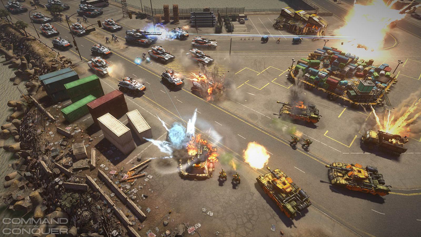Скриншот Command & Conquer 2013