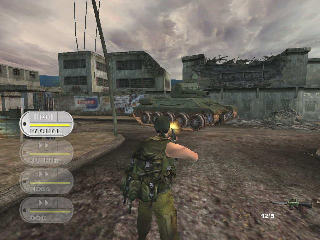 Скриншот Conflict: Vietnam