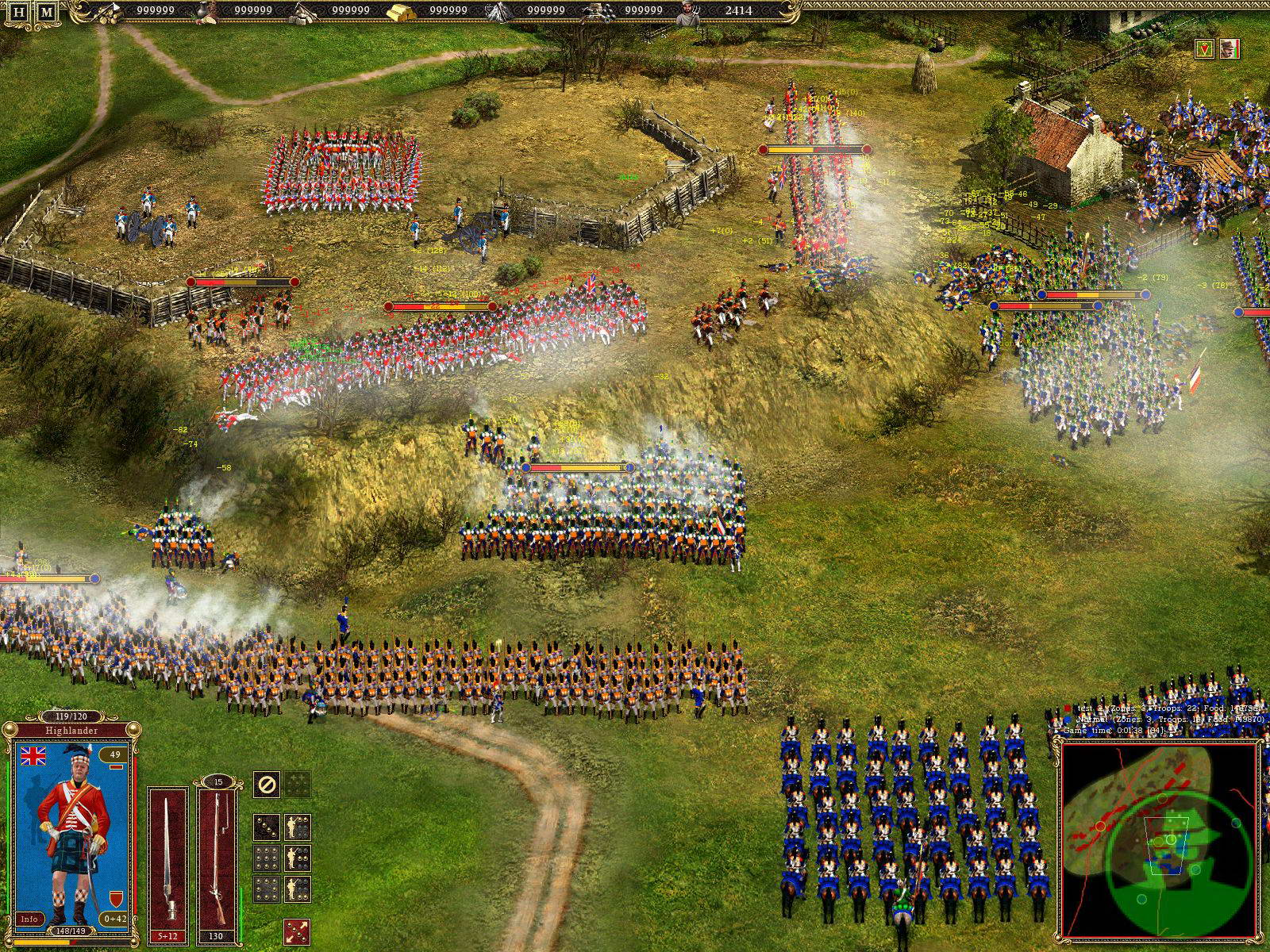 Скриншот Cossacks II: Battle for Europe
