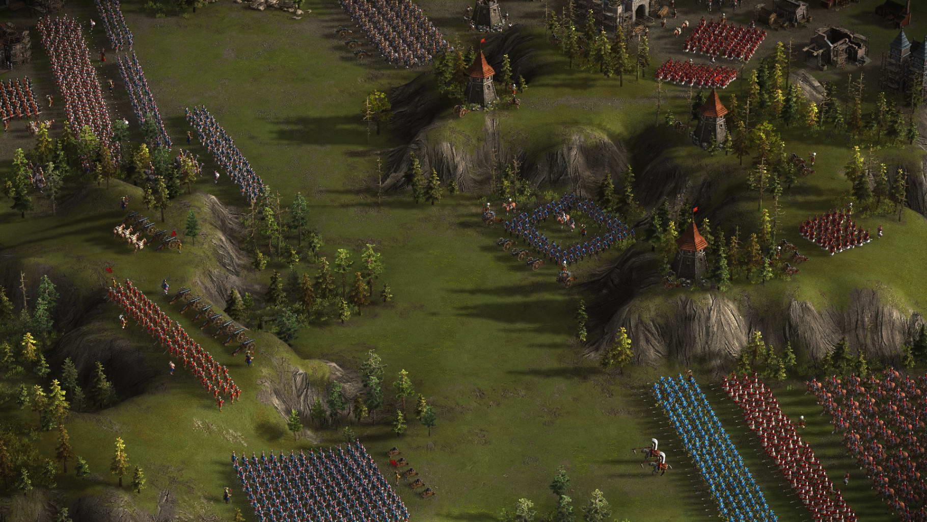 Скриншот Казаки 3