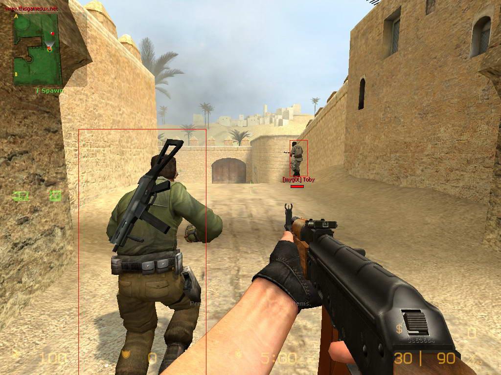 Скриншот Counter-Strike: Source