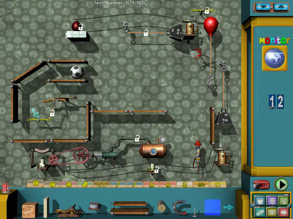 Скриншот Crazy Machines: New From The Lab
