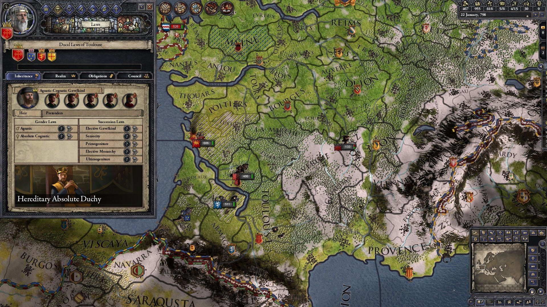 Скриншот Crusader Kings 2: Conclave