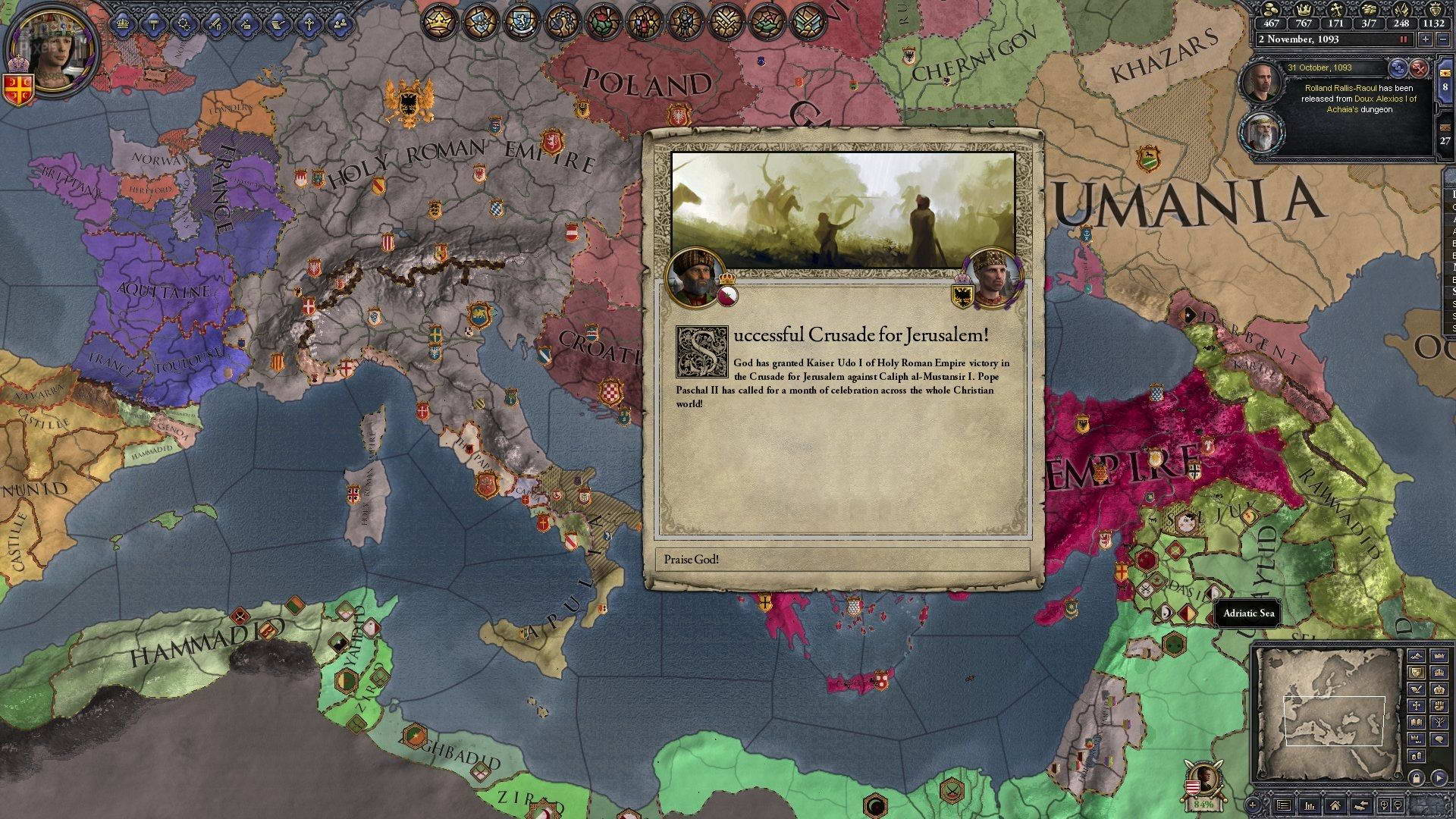 Скриншот Crusader Kings II: Legacy of Rome