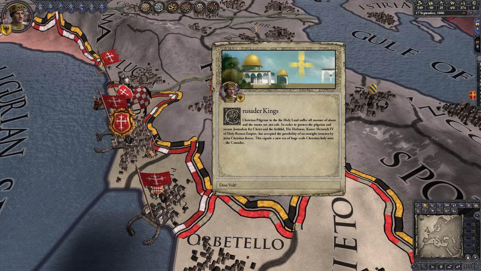 Скриншот Crusader Kings II: Sons of Abraham