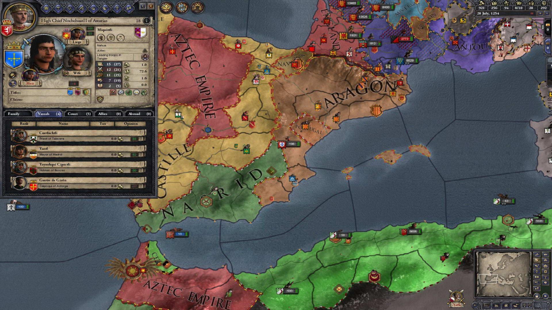Скриншот Crusader Kings II: Sunset Invasion