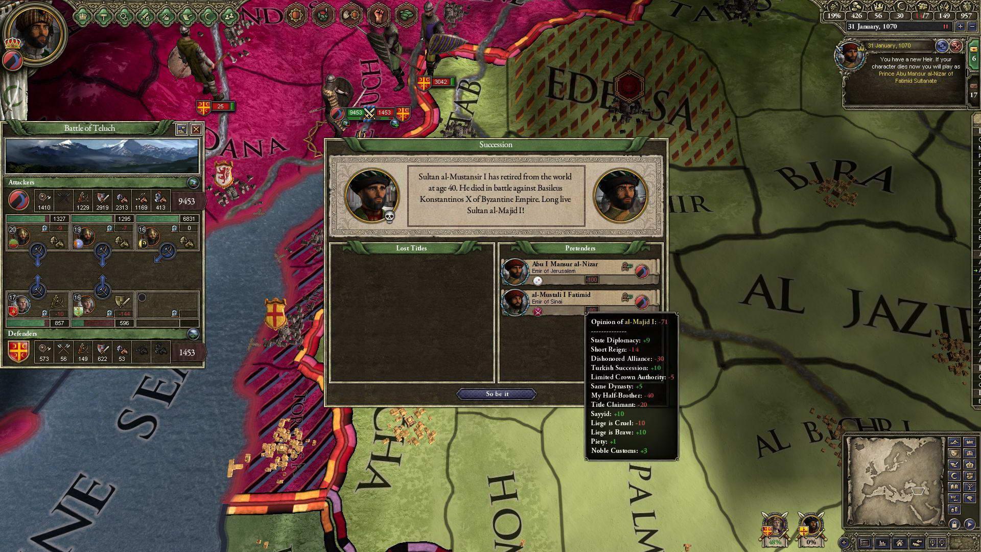 Скриншот Crusader Kings II: Sword of Islam