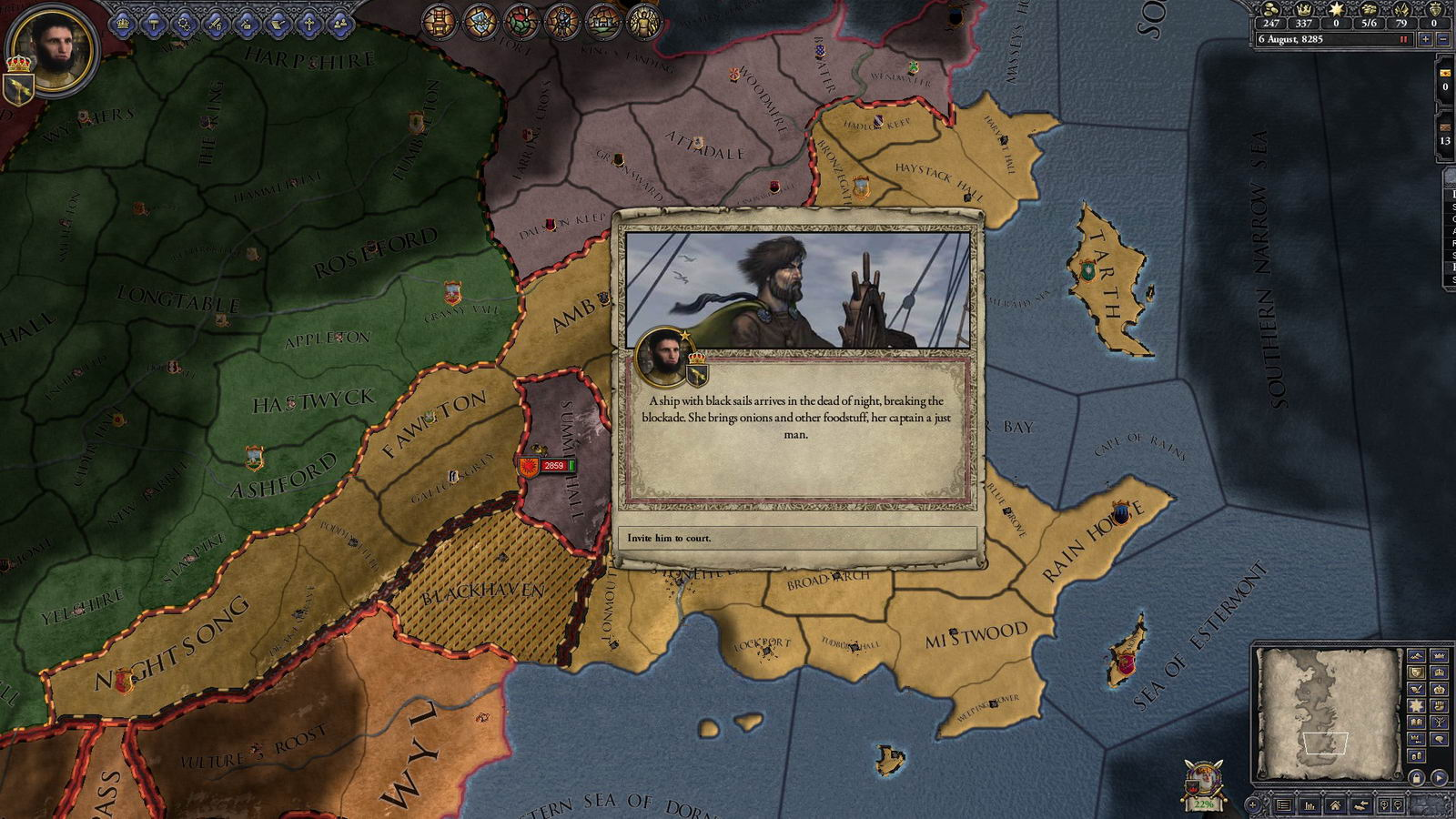 Скриншот Crusader Kings II: The Old Gods
