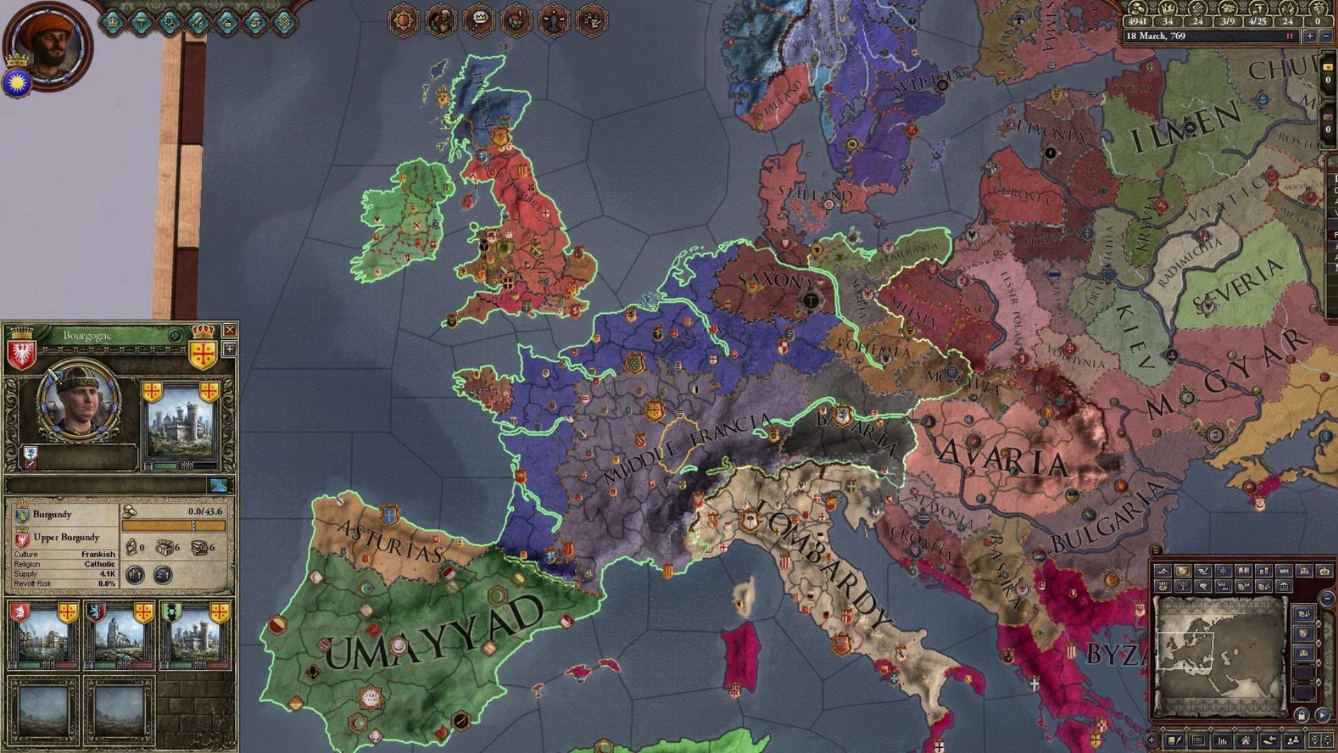 Скриншот Crusader Kings II