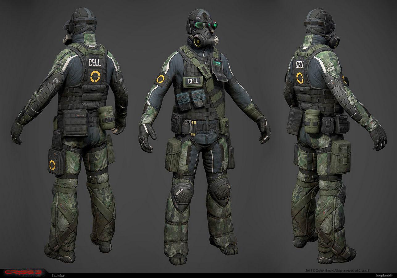 Арт Crysis 3
