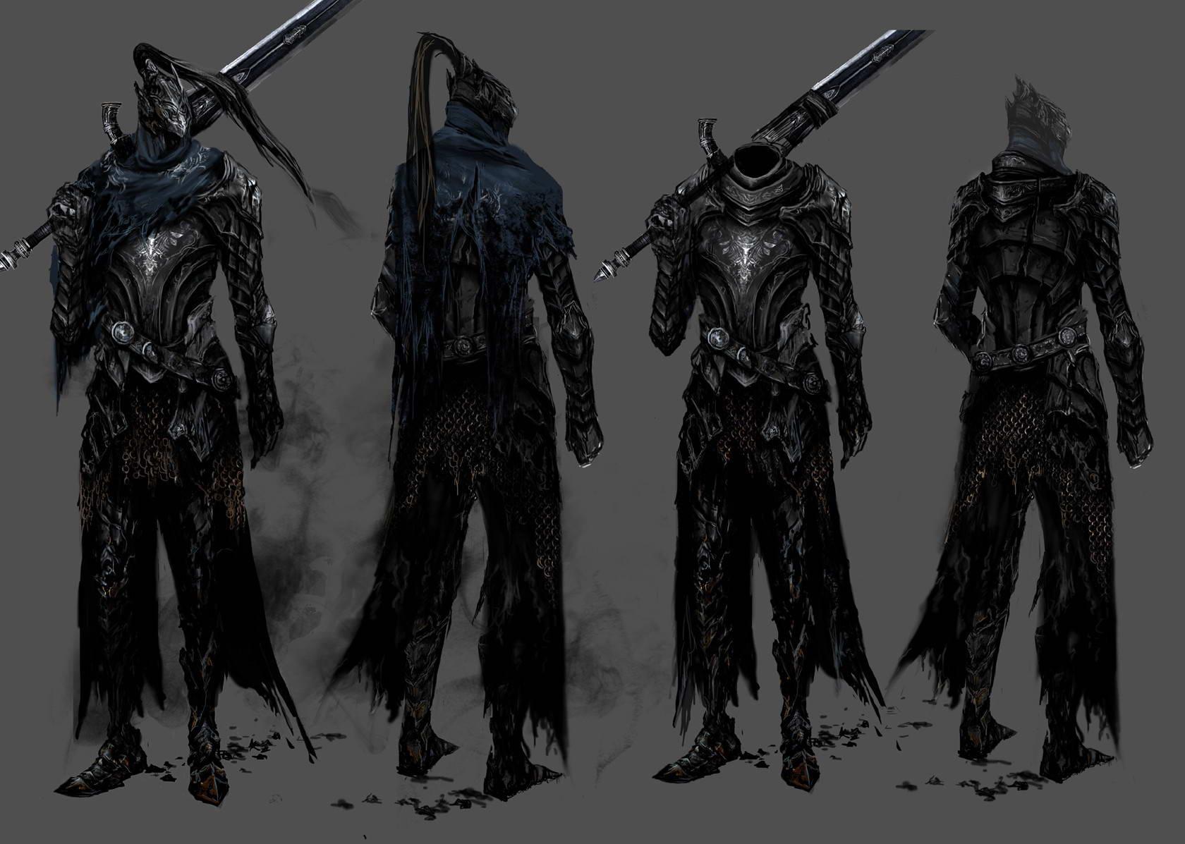 Арт Dark Souls