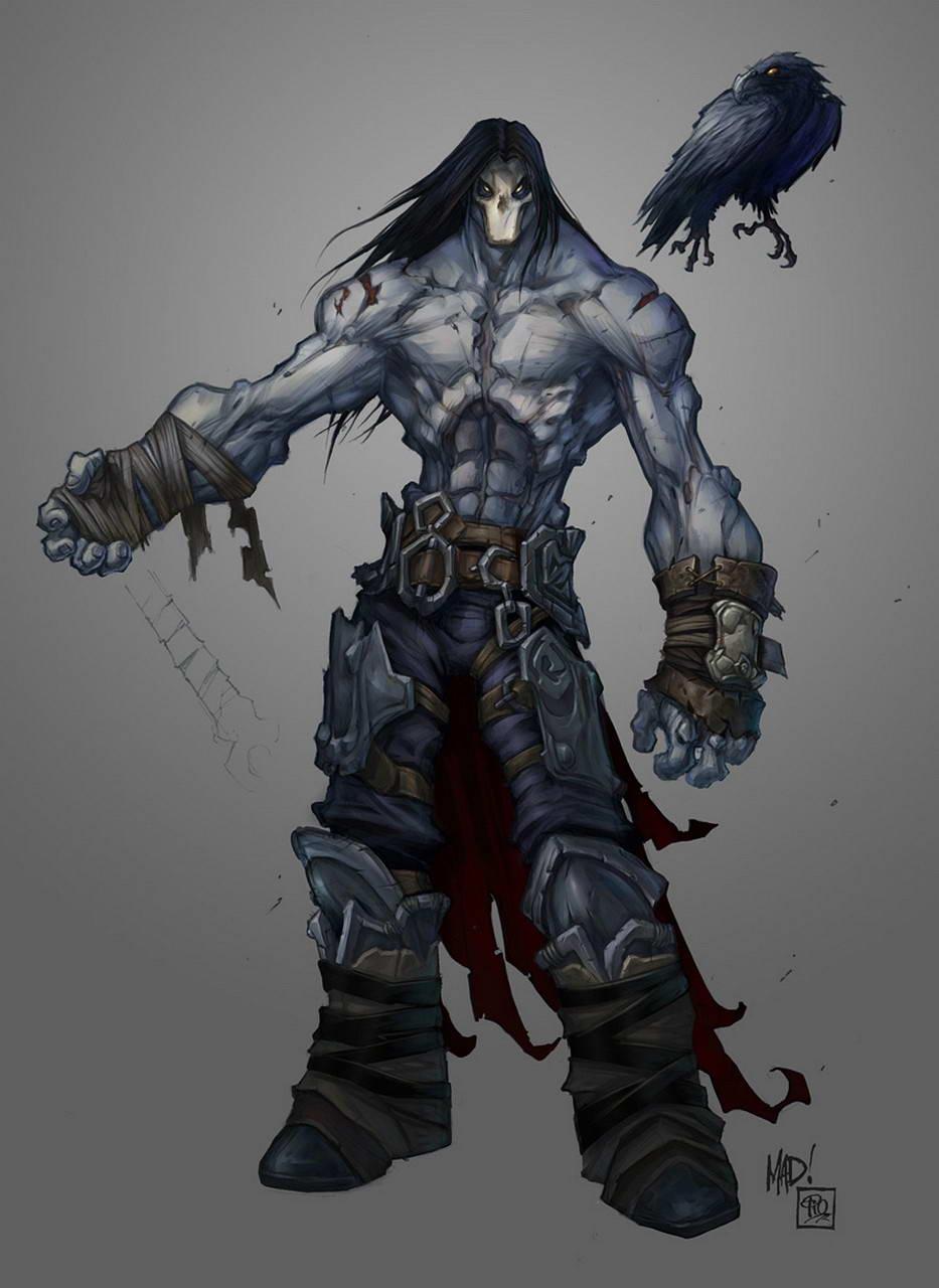 Арт Darksiders 2