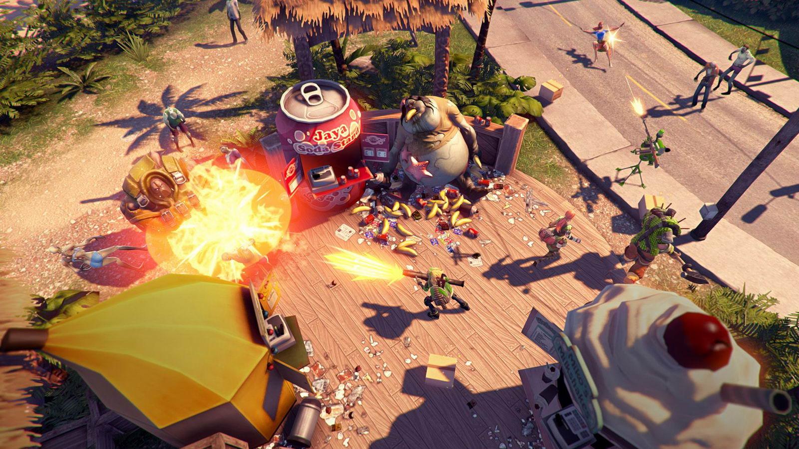 Скриншот Dead Island Epidemic