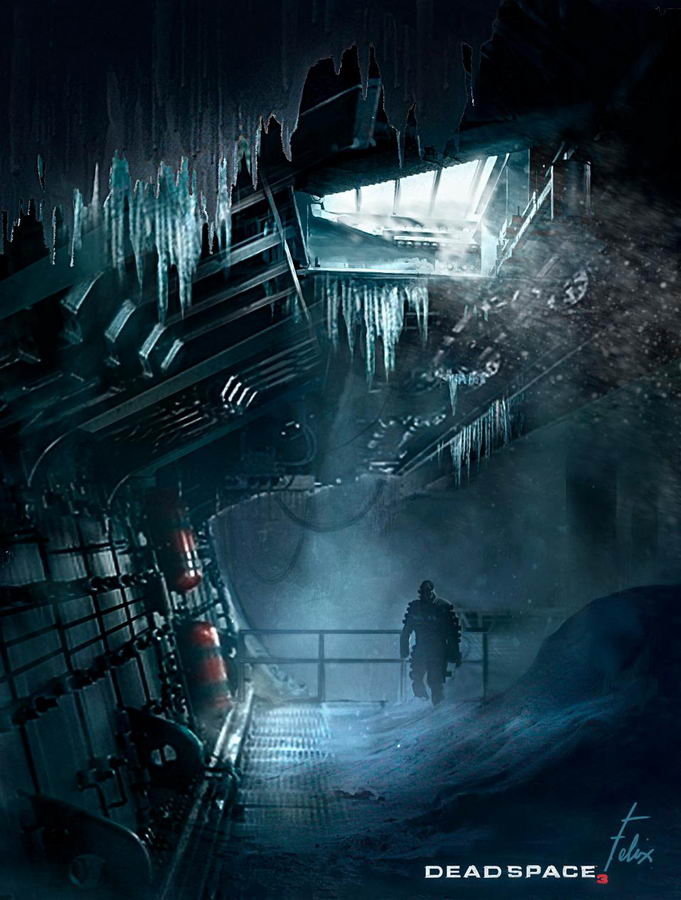 Арт Dead Space 3