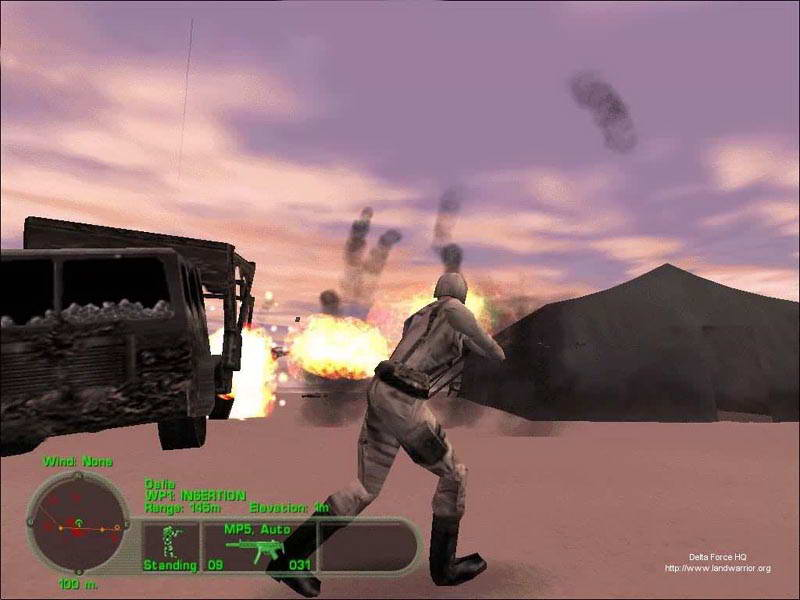 delta force 3 pc gameplay