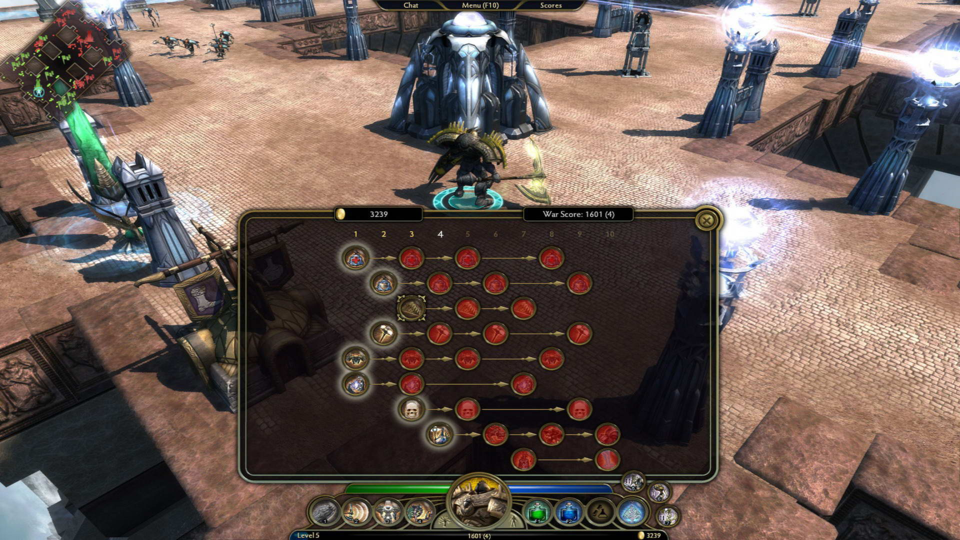 Скриншот Demigod