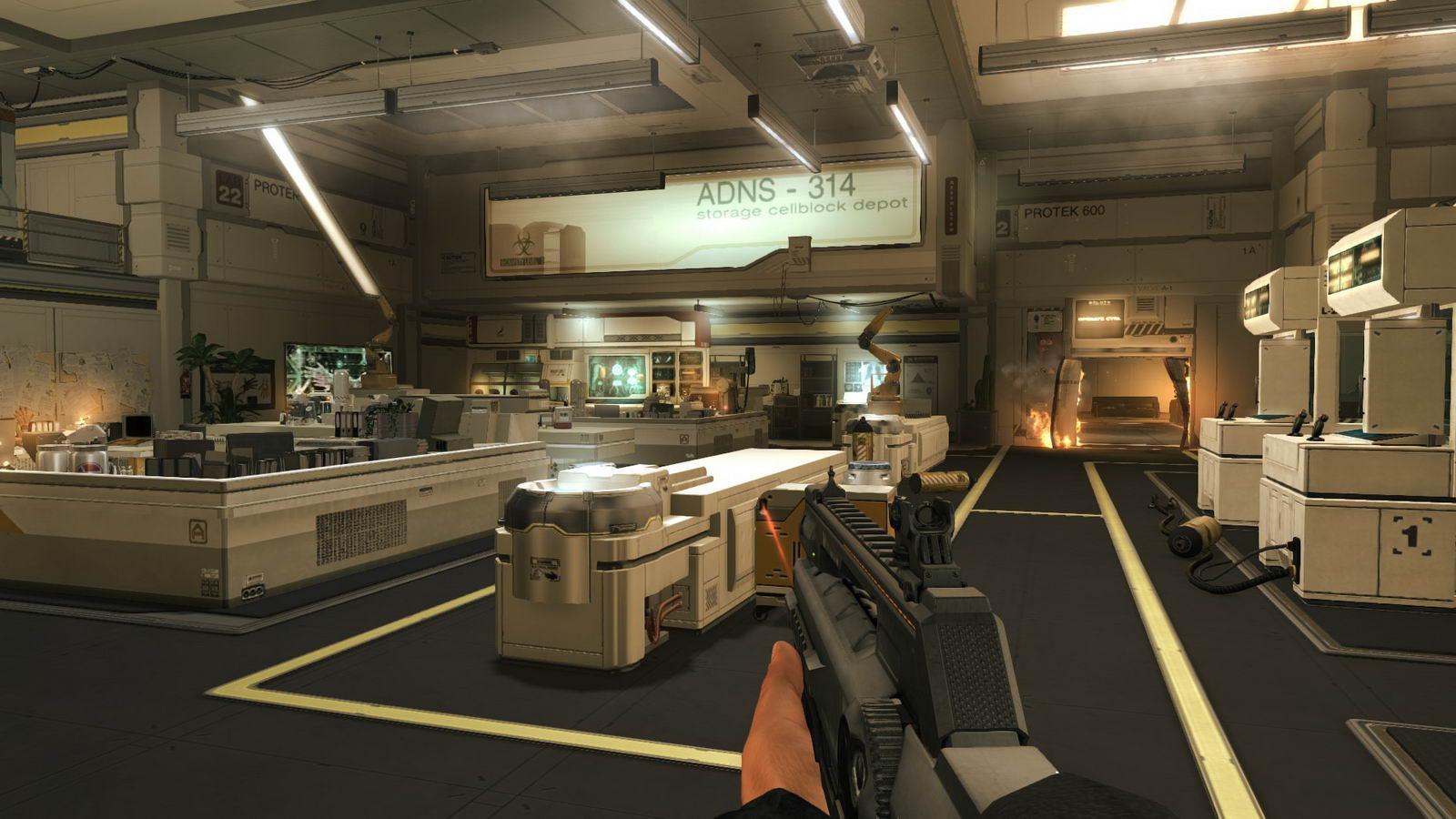 Скриншот Deus Ex: Human Revolution Director's Cut
