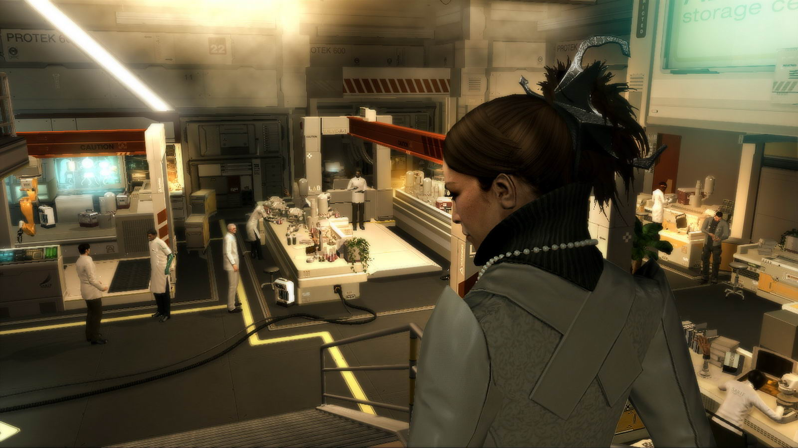 Скриншот Deus Ex: Human Revolution Director's Cut