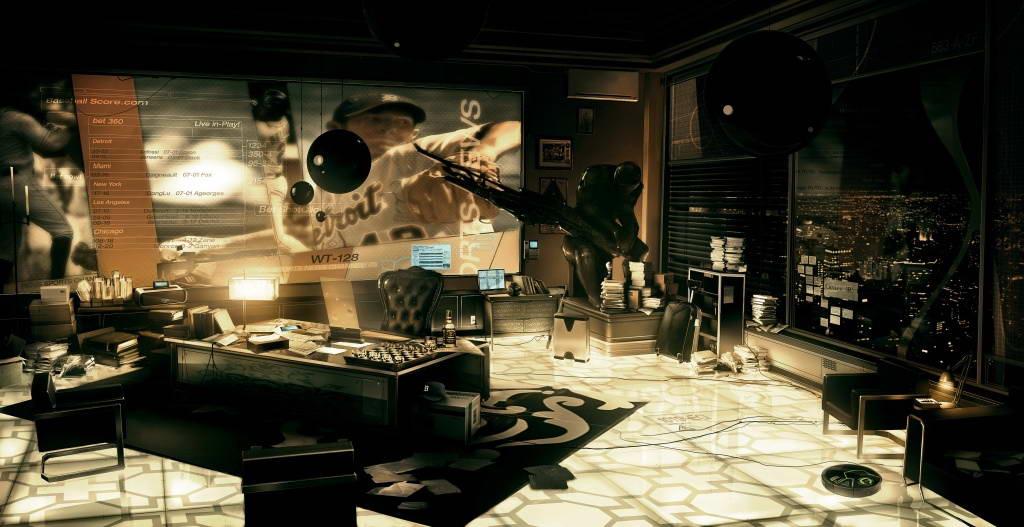 Арт Deus Ex: Human Revolution