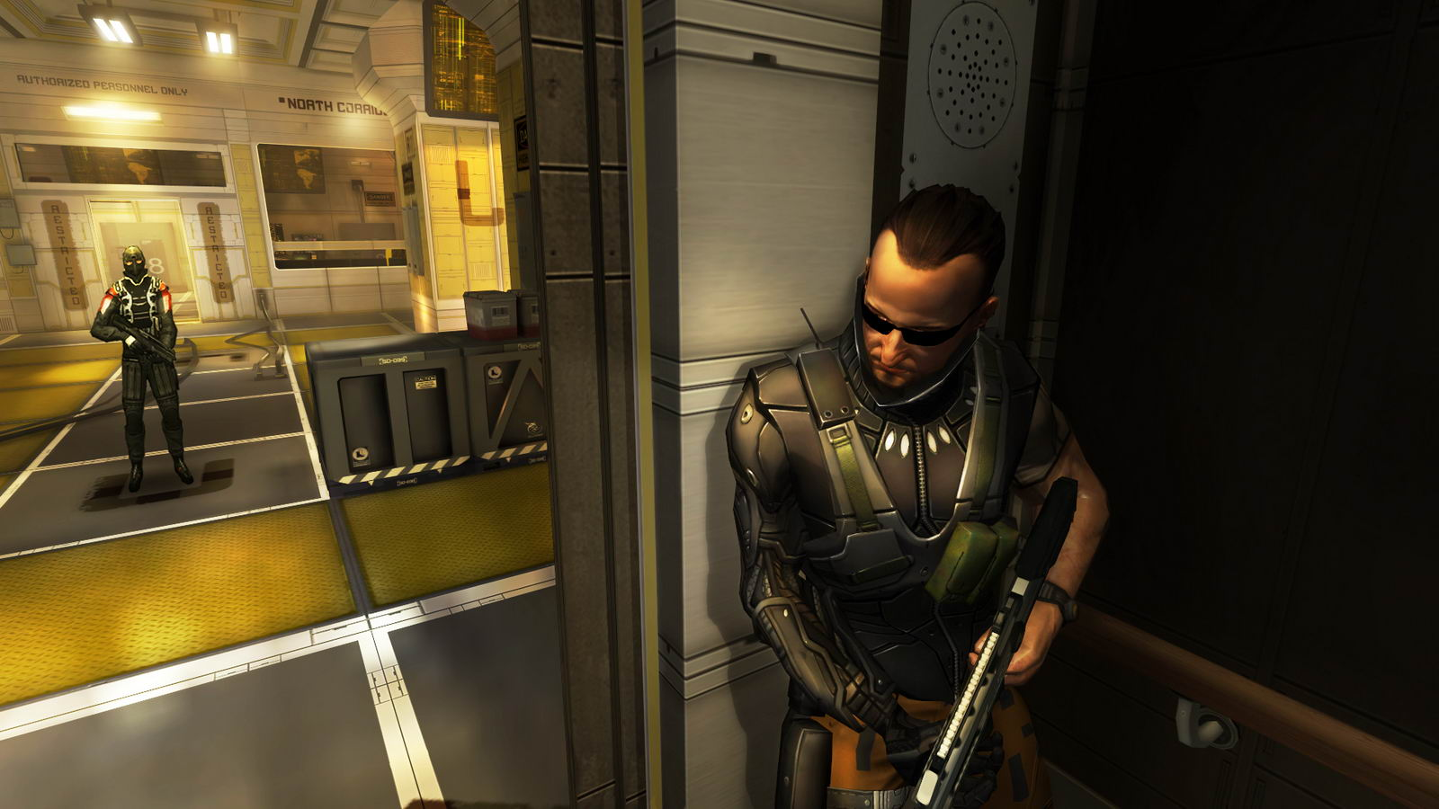 Скриншот Deus Ex: The Fall