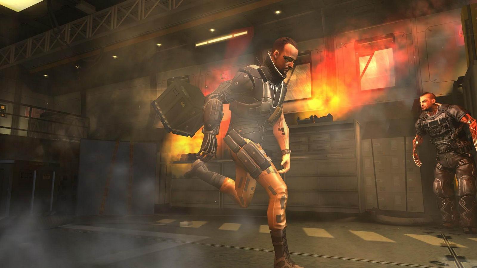 Скриншот Deus Ex: The Fall