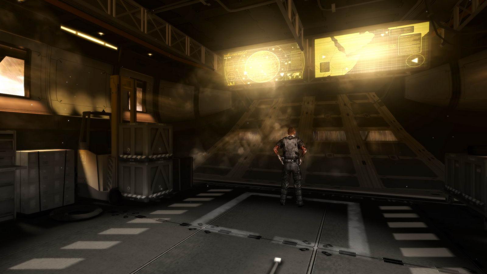 Арт Deus Ex: The Fall
