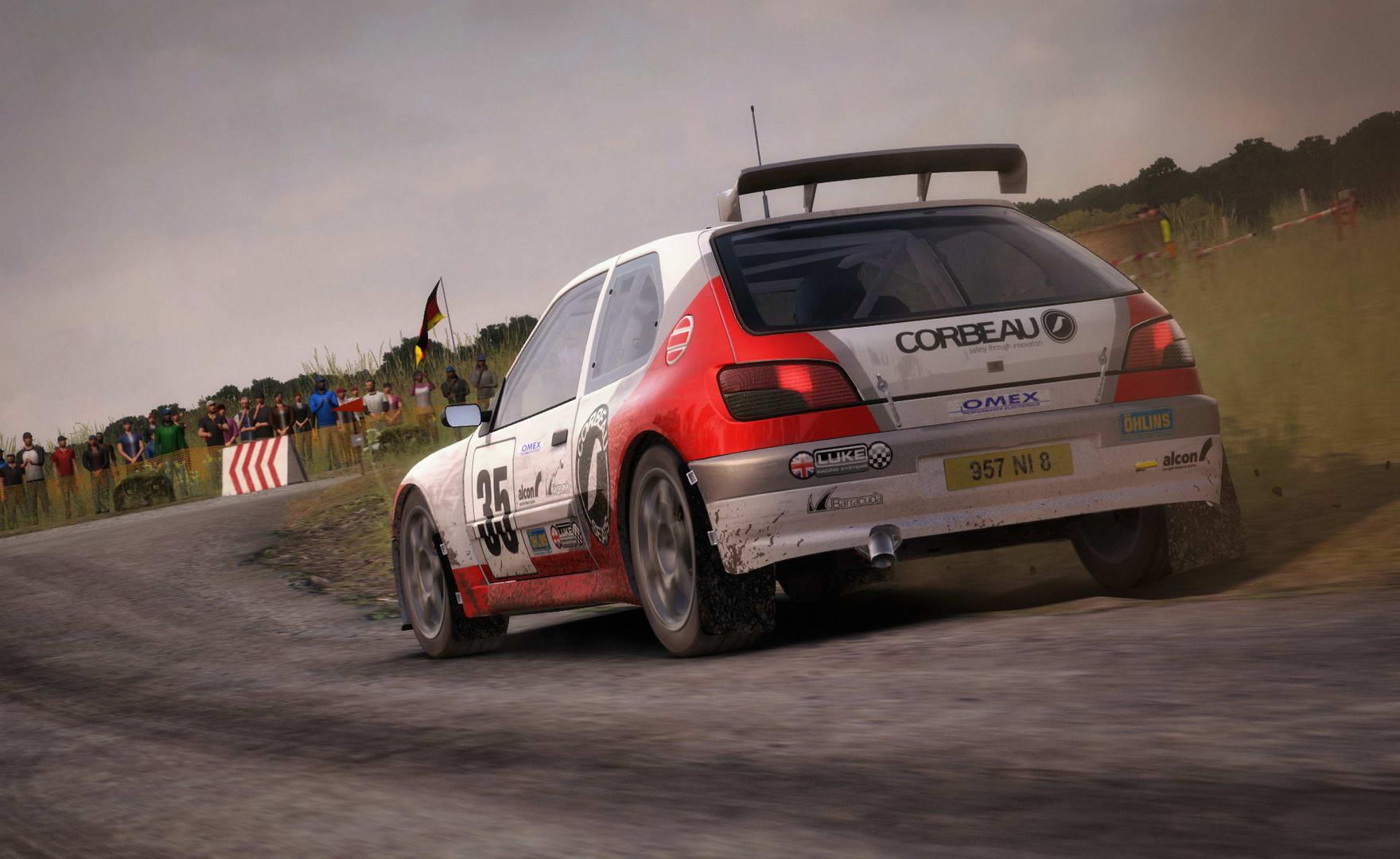 Скриншот DiRT Rally