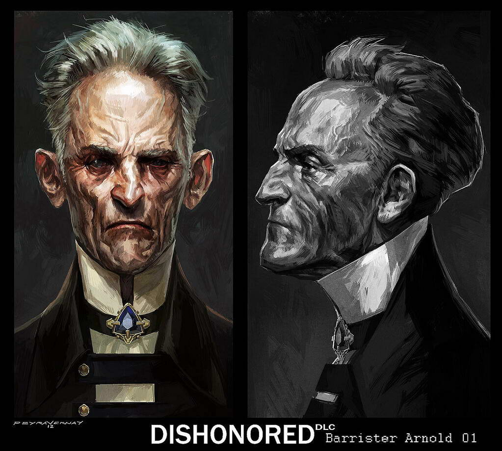 Арт Dishonored: The Knife of Dunwall