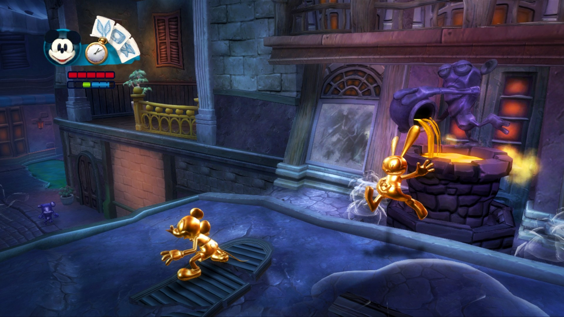 Скриншот Disney Epic Mickey 2: The Power of Two
