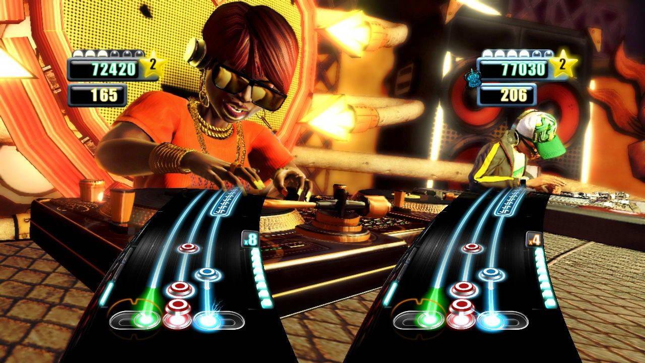 Скриншот DJ Hero