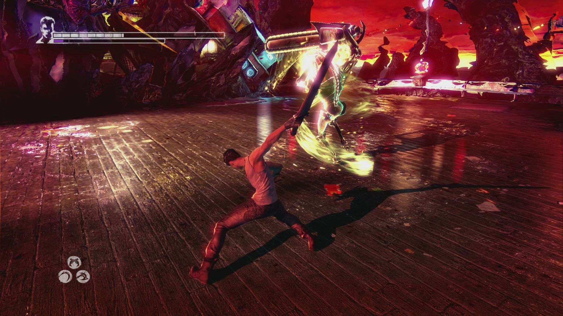 Скриншот DmC: Devil May Cry Definitive Edition