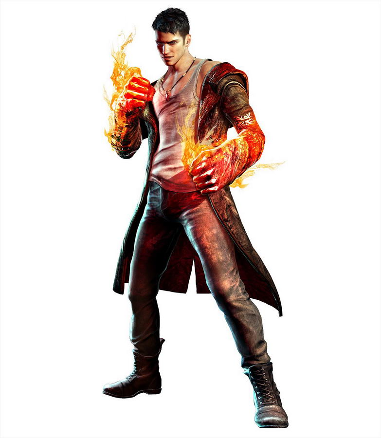Арт DmC: Devil May Cry