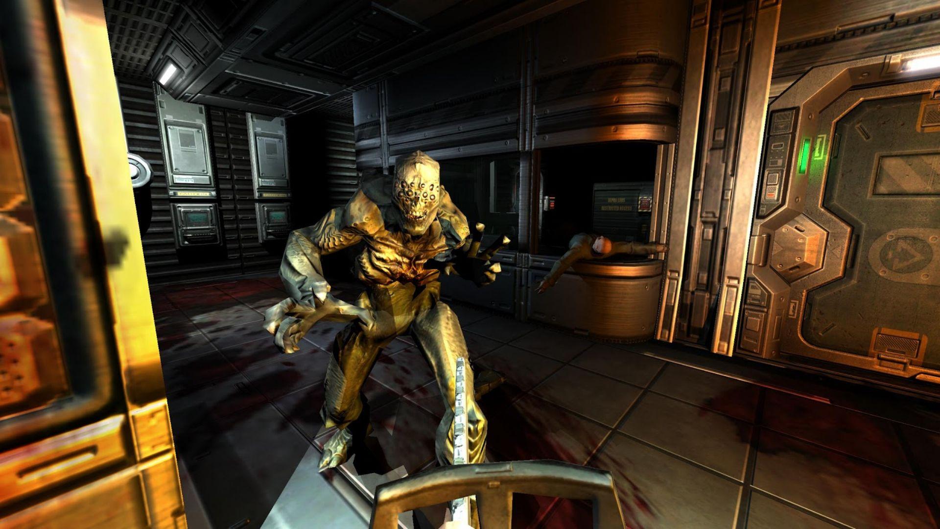Скриншот Doom 3: BFG Edition