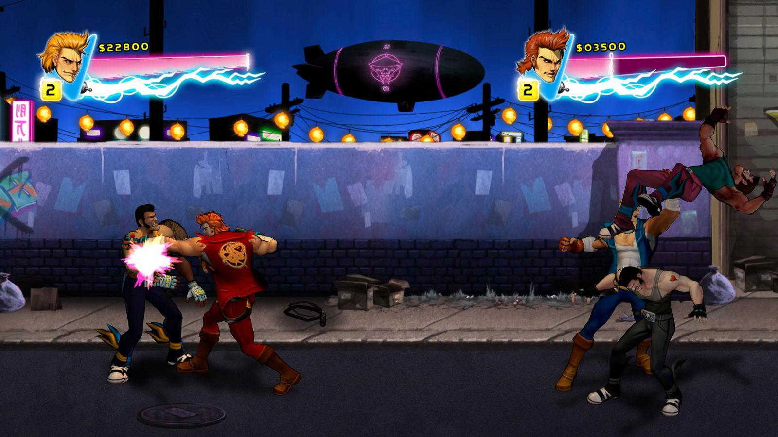 Скриншот Double Dragon Neon