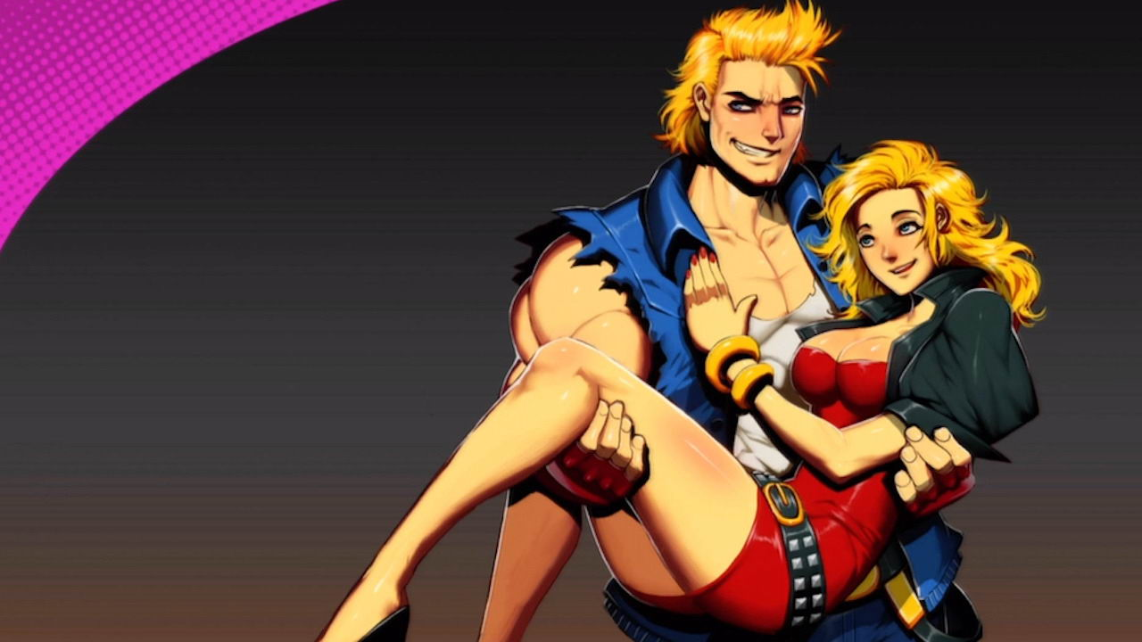 Арт Double Dragon Neon