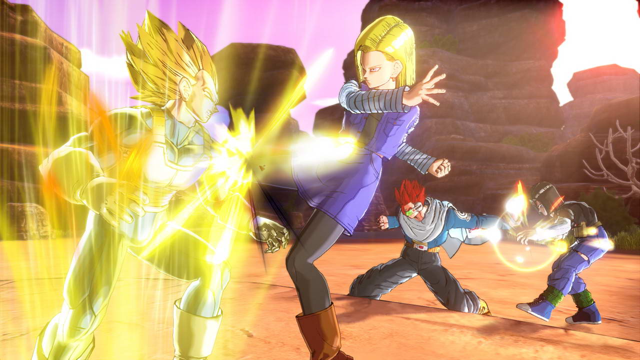 Скриншот Dragon Ball: Xenoverse