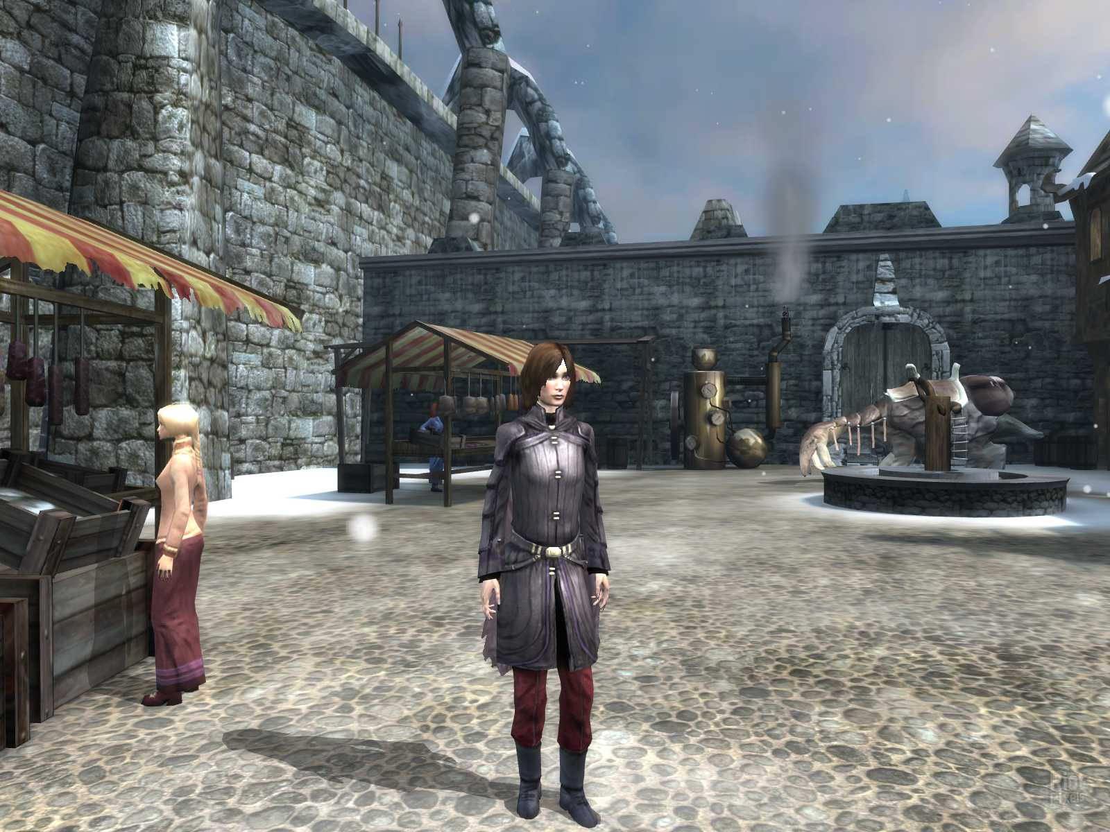 Скриншот Dreamfall: The Longest Journey