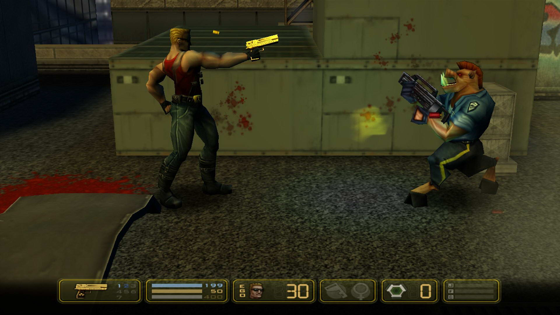 Скриншот Duke Nukem: Manhattan Project