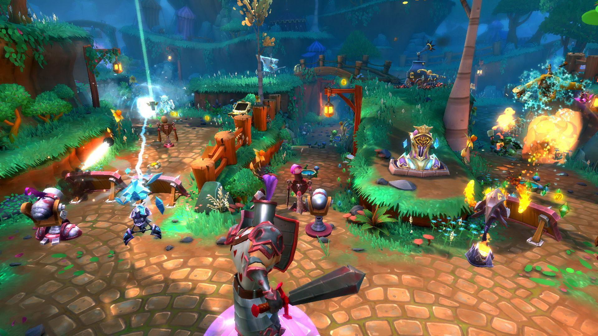 Скриншот Dungeon Defenders 2