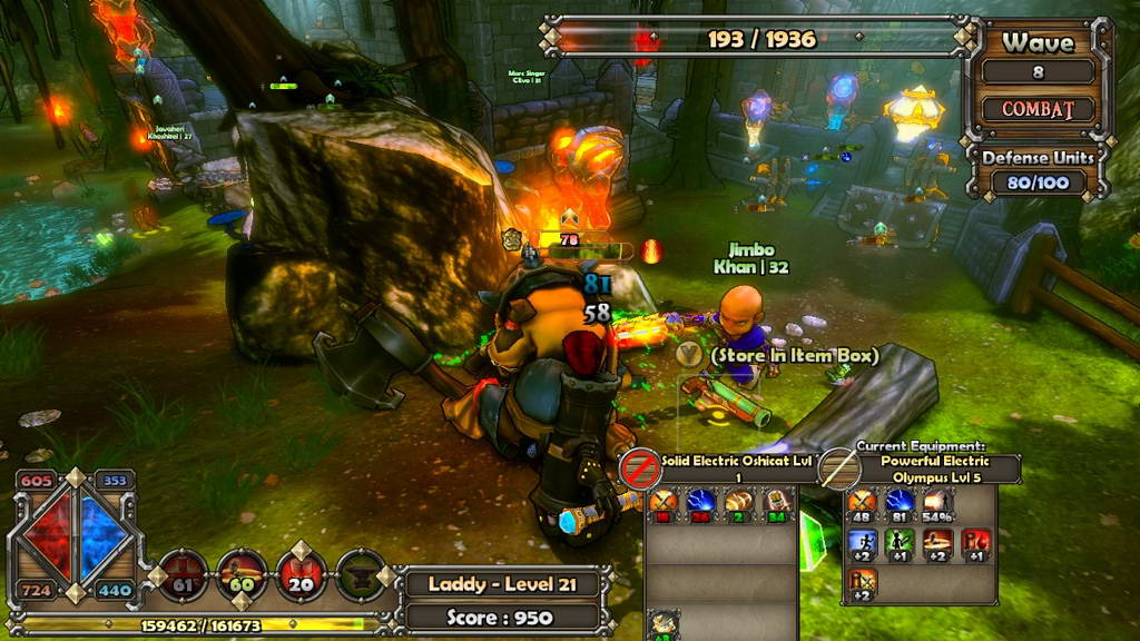 Скриншот Dungeon Defenders