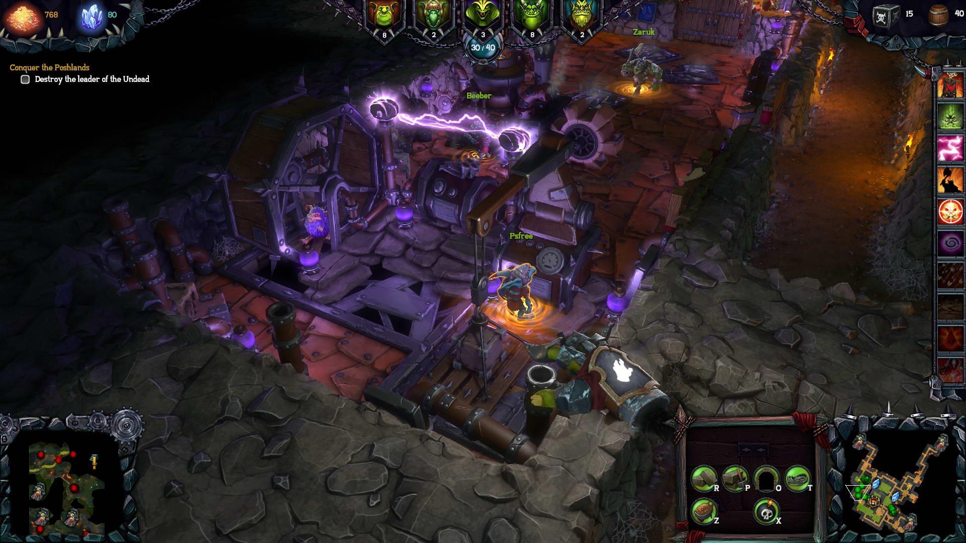 Скриншот Dungeons 2