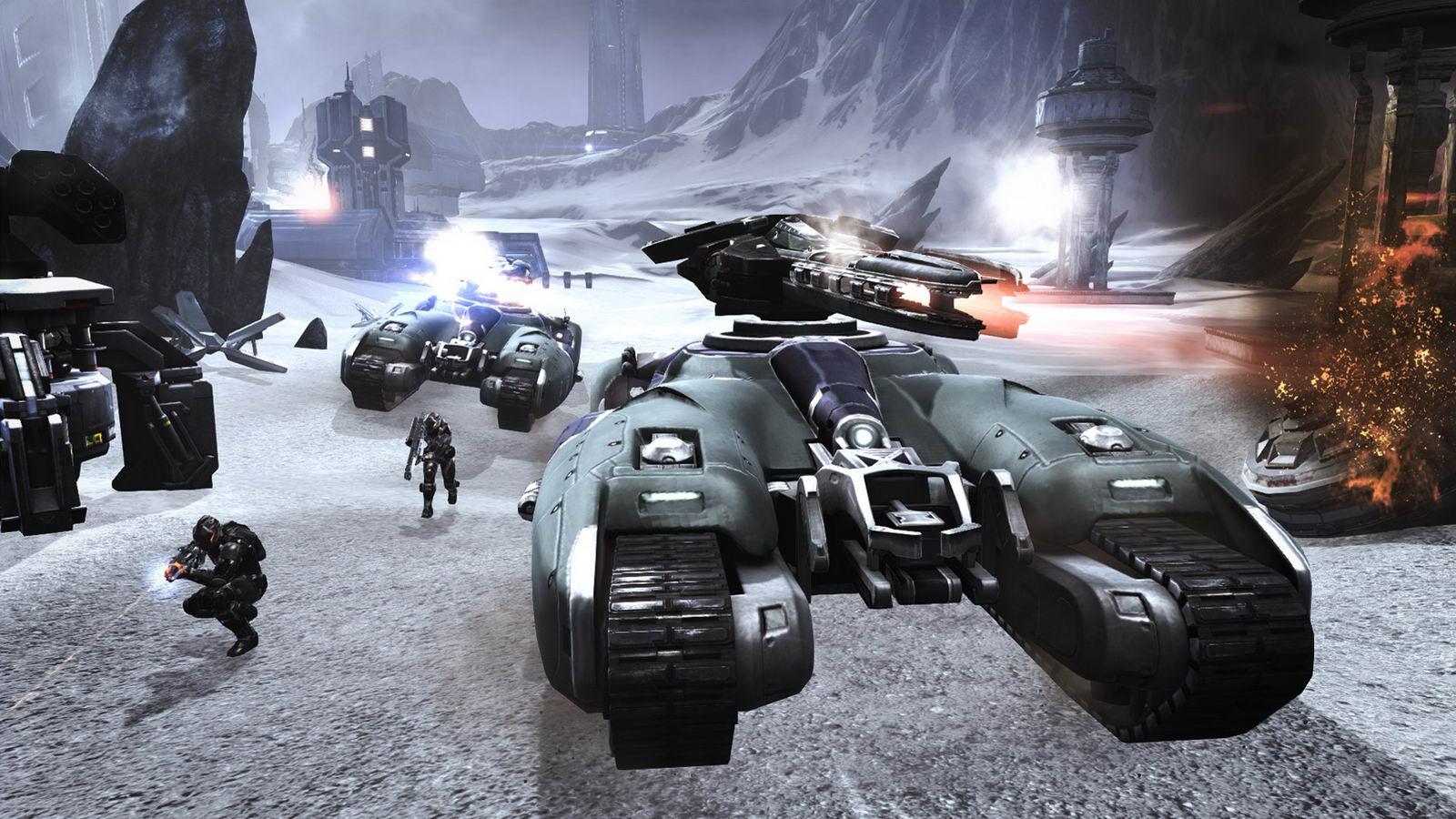 Скриншот Dust 514