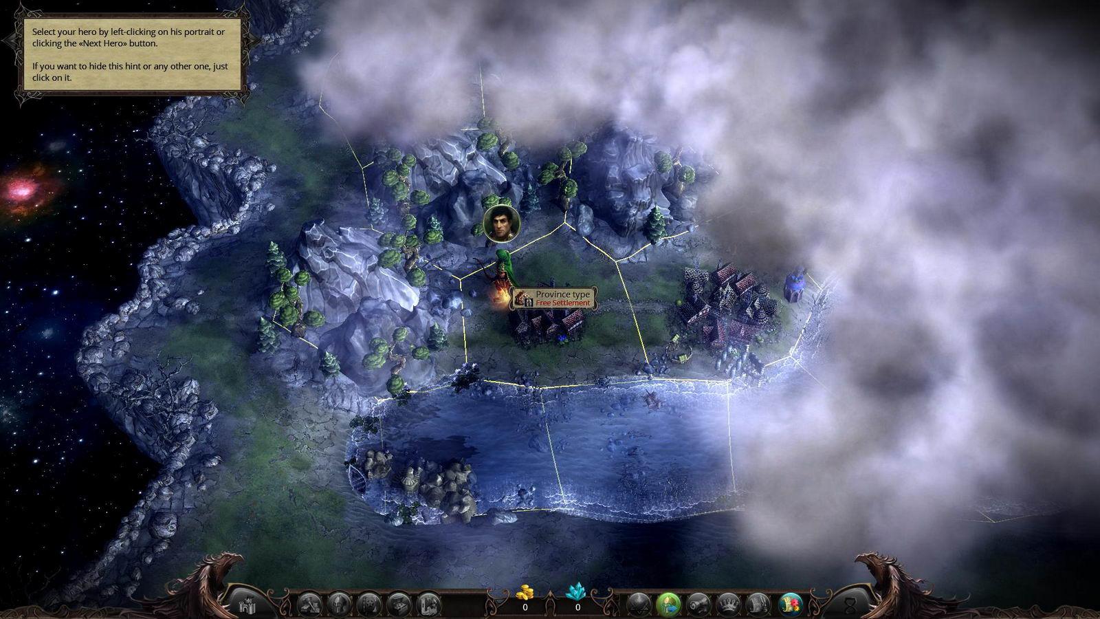 Скриншот Eador: Masters of the Broken World