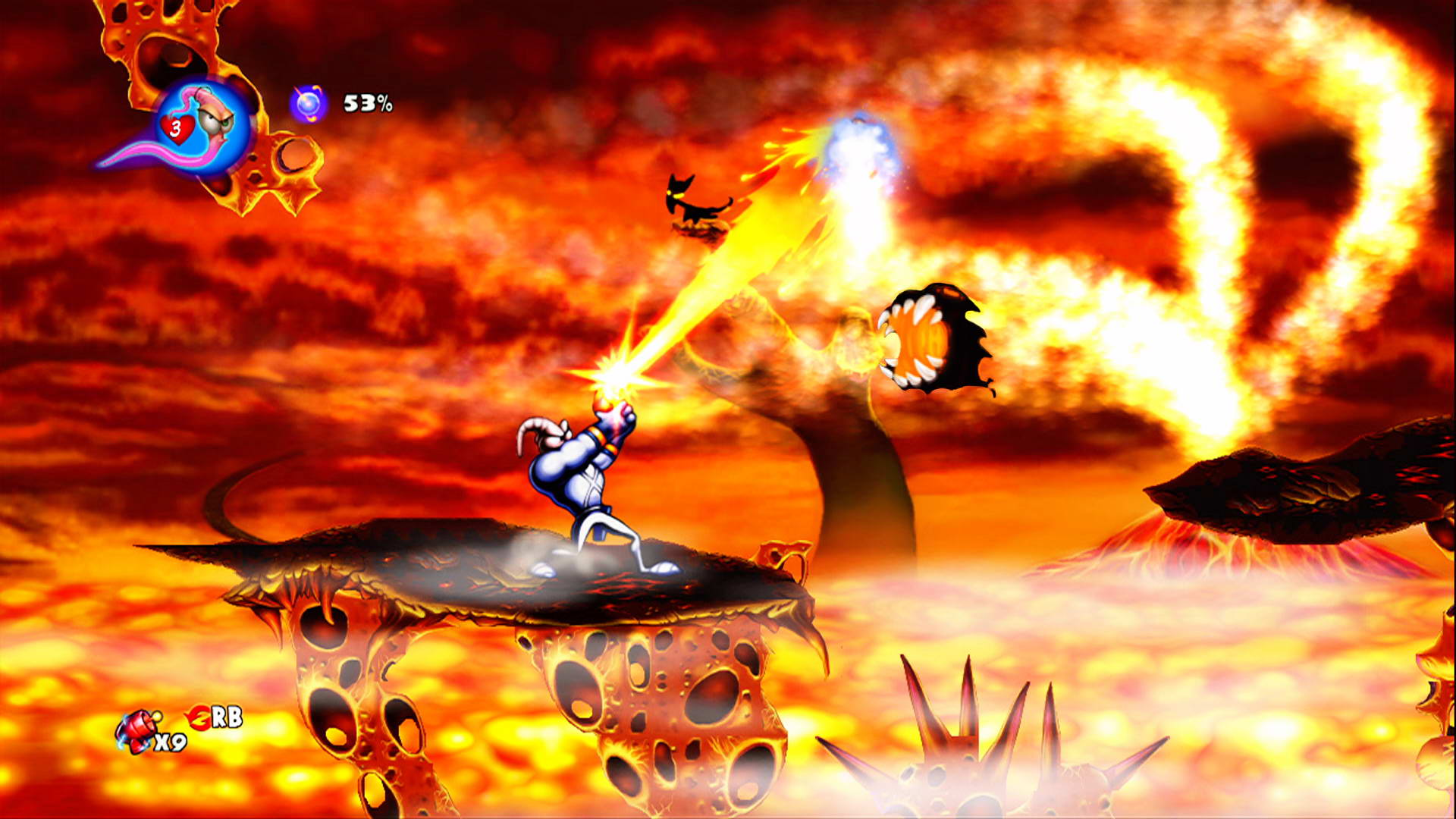 Скриншот Earthworm Jim HD