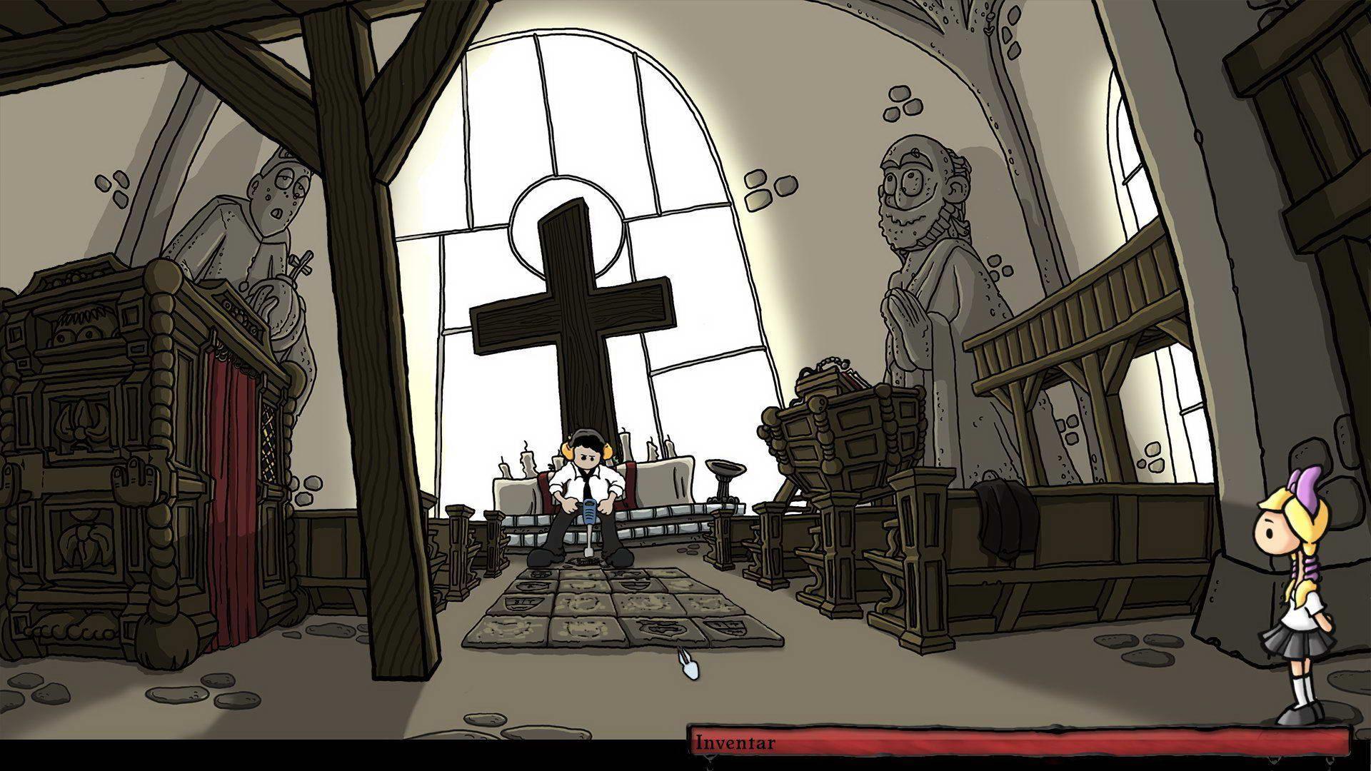 Скриншот Edna & Harvey: Harvey's New Eyes