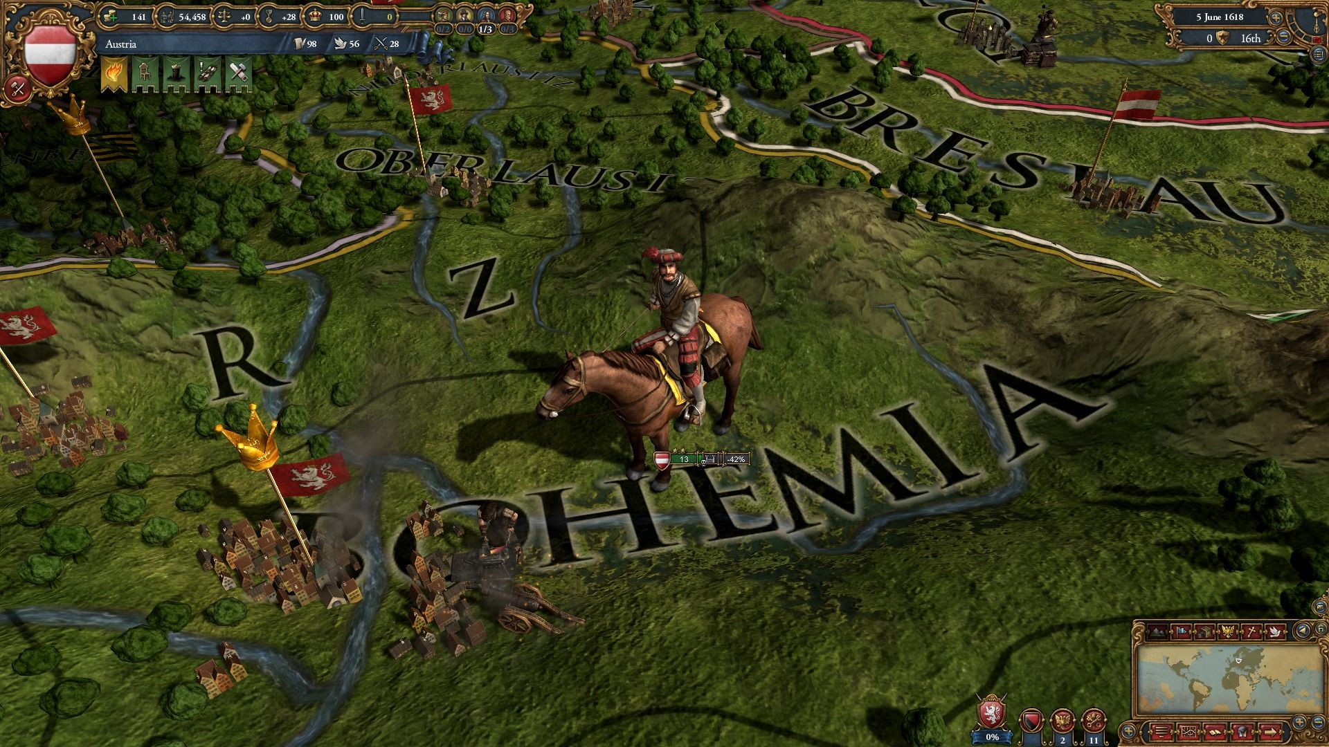 Скриншот Europa Universalis 4: Art of War