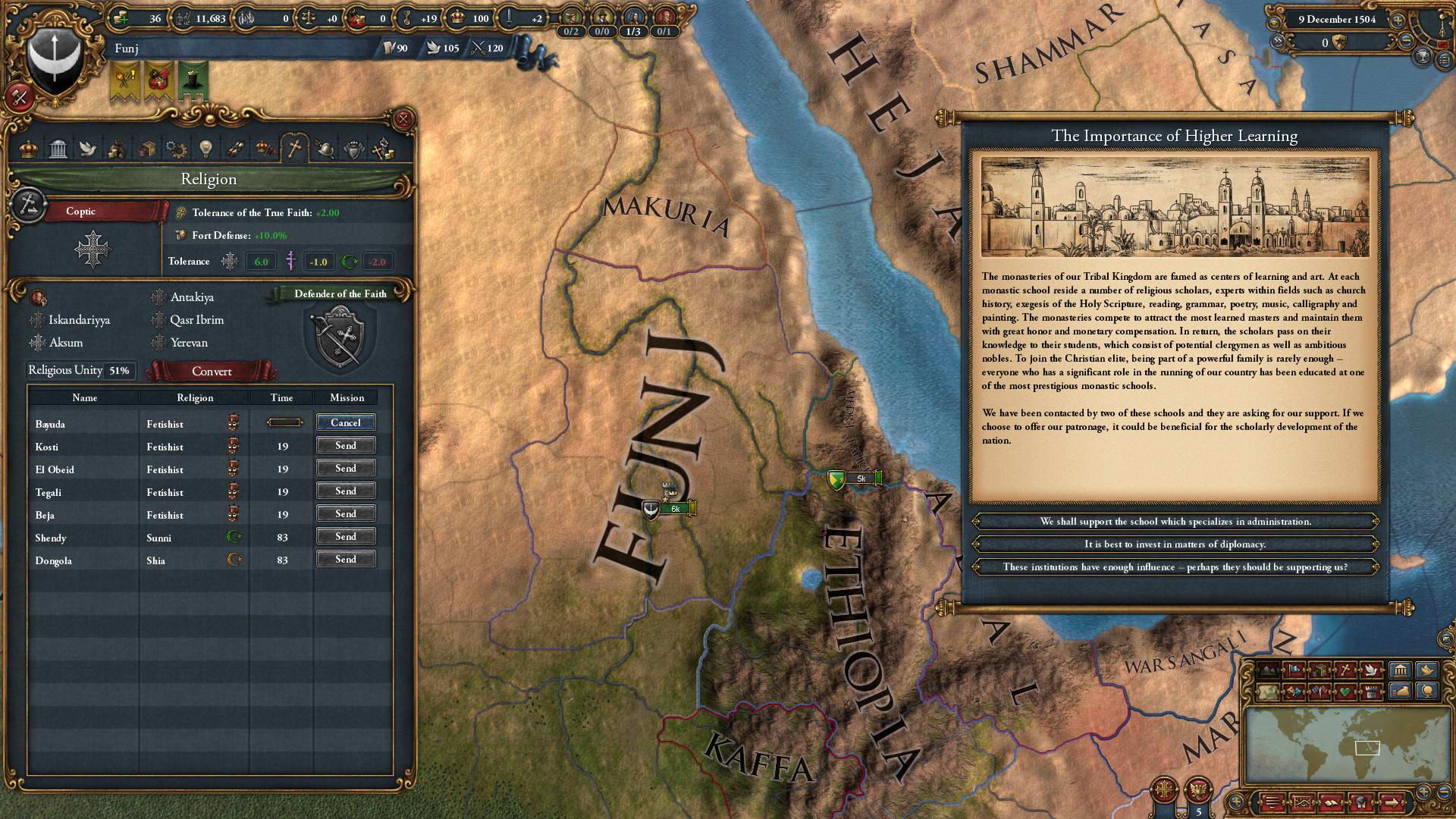 Скриншот Europa Universalis IV: Rights Of Man