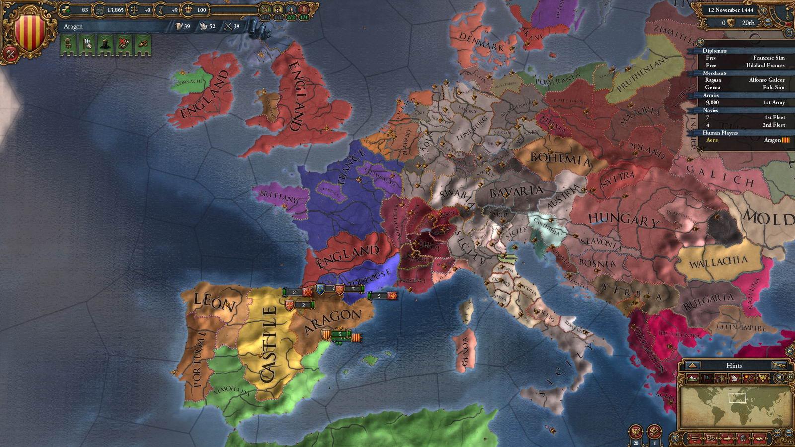 Скриншот Europa Universalis IV