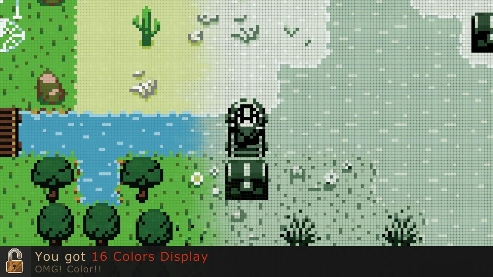 Скриншот Evoland
